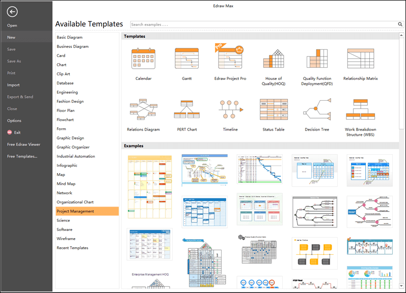 edraw project management software
