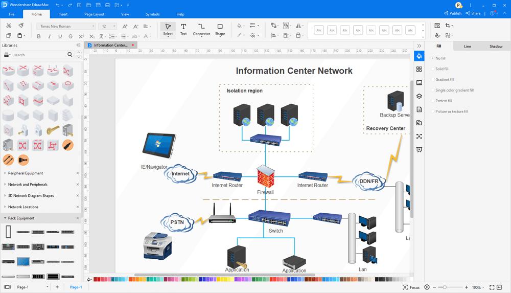 best network diagram software