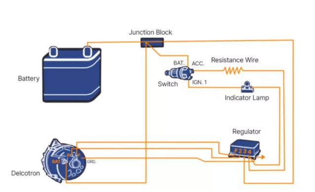 External Electromechanical Voltage Regulator