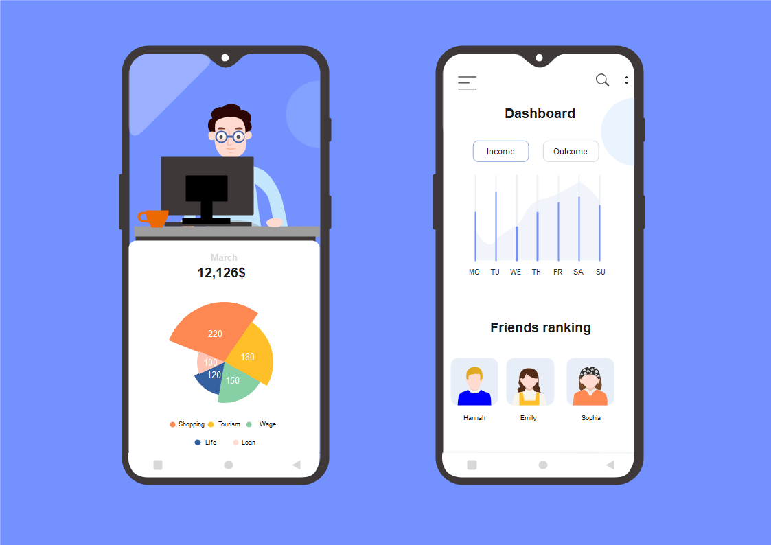 android ui template