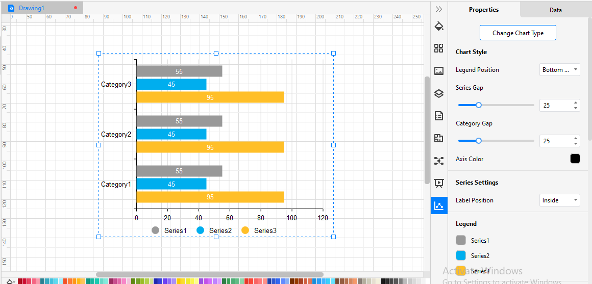 Customize Bar Graph