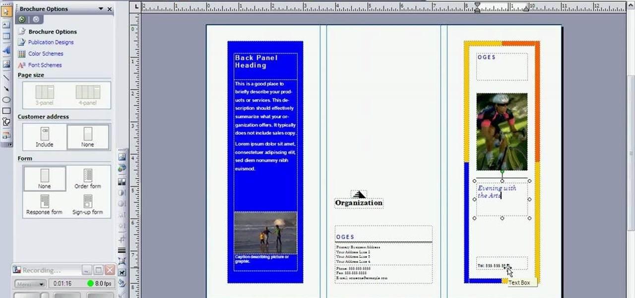 MS Office Brochure Maker