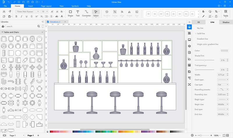Software de diseño de gabinetes