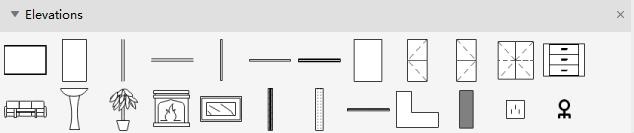 Símbolos de elevación