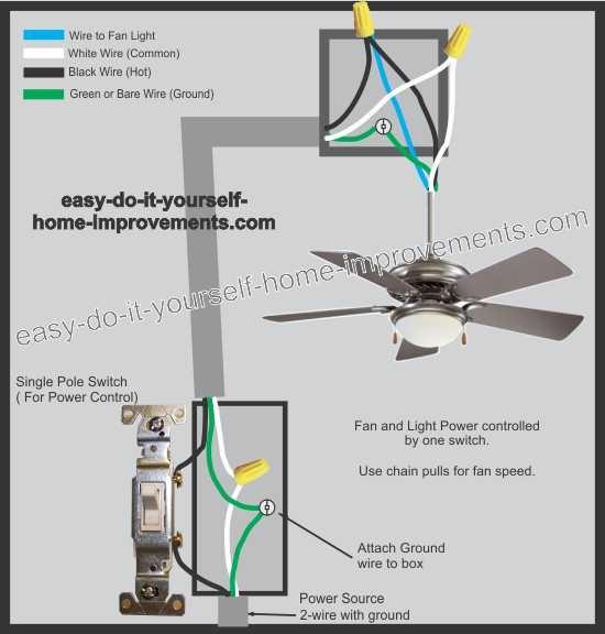 fan wiring diagram
