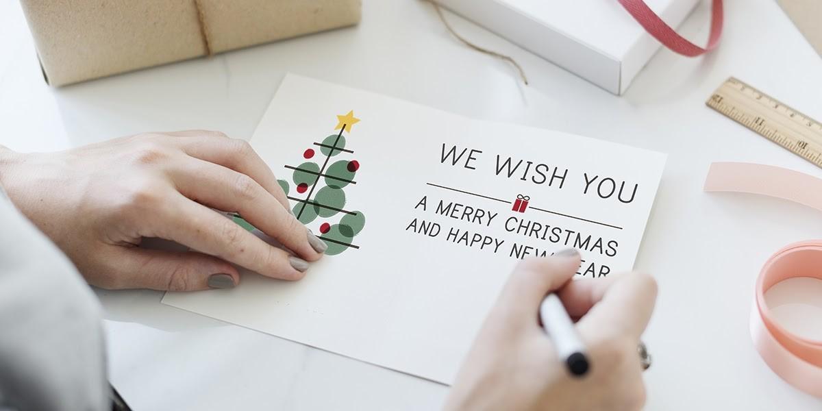 Weihnachtskarten-Botschaften