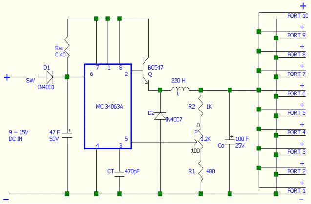 circuit symbol forms circuit diagram