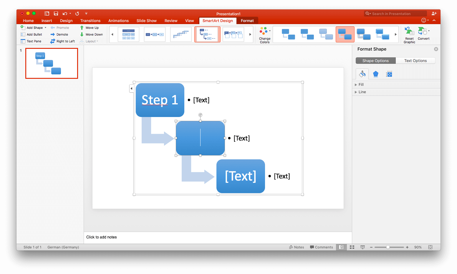 How to make a flowchart in MS-Excel/PowerPoint
