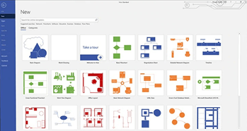 How to make a flowchart with Visio