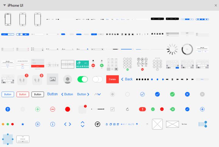 iPhone UI Symbols