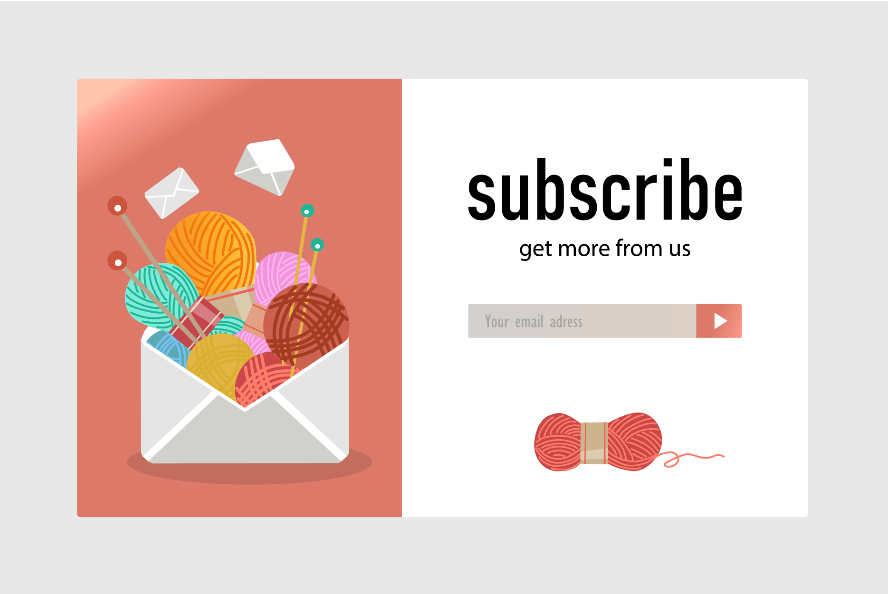subscribe with email