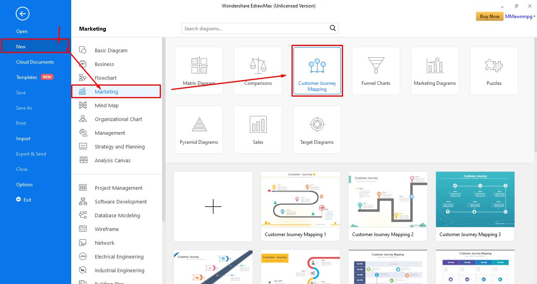 Click Customer Journey map