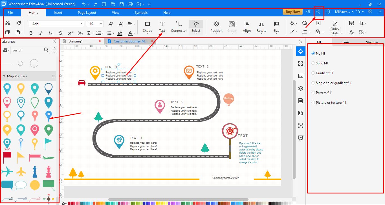 Editing and Designing process