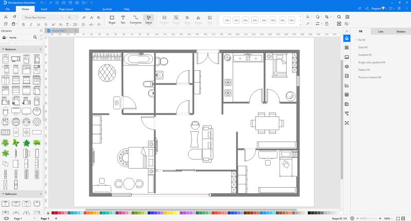 Home Plan step 2