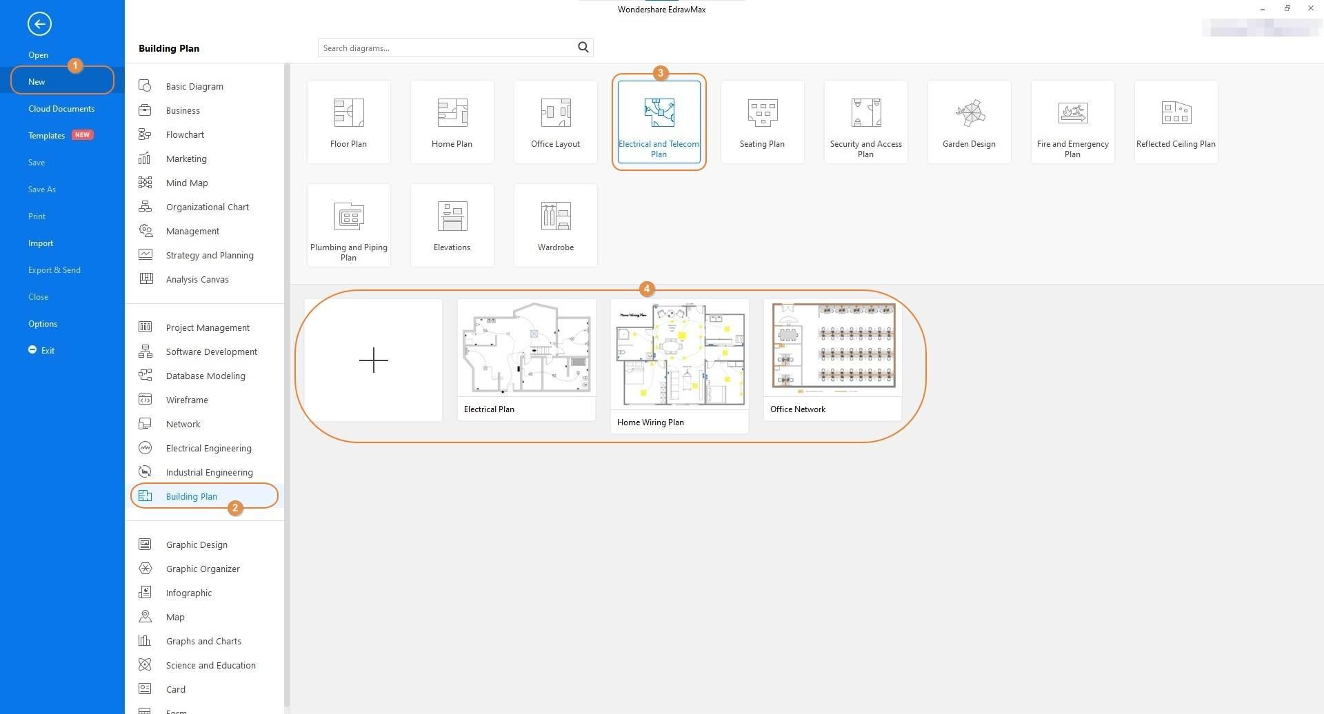 select Building Plan