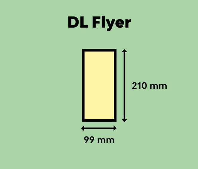 Dimension Lengthwise (DL) Flyer