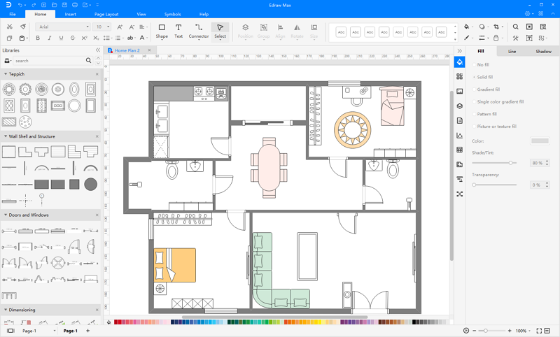 Building Plan Examples Free Download