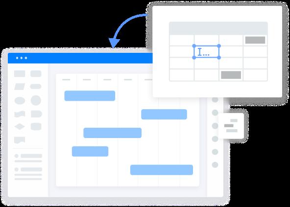 Create Data-Oriented Gantt Chart Easily