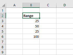 enter the datasets into the worksheet