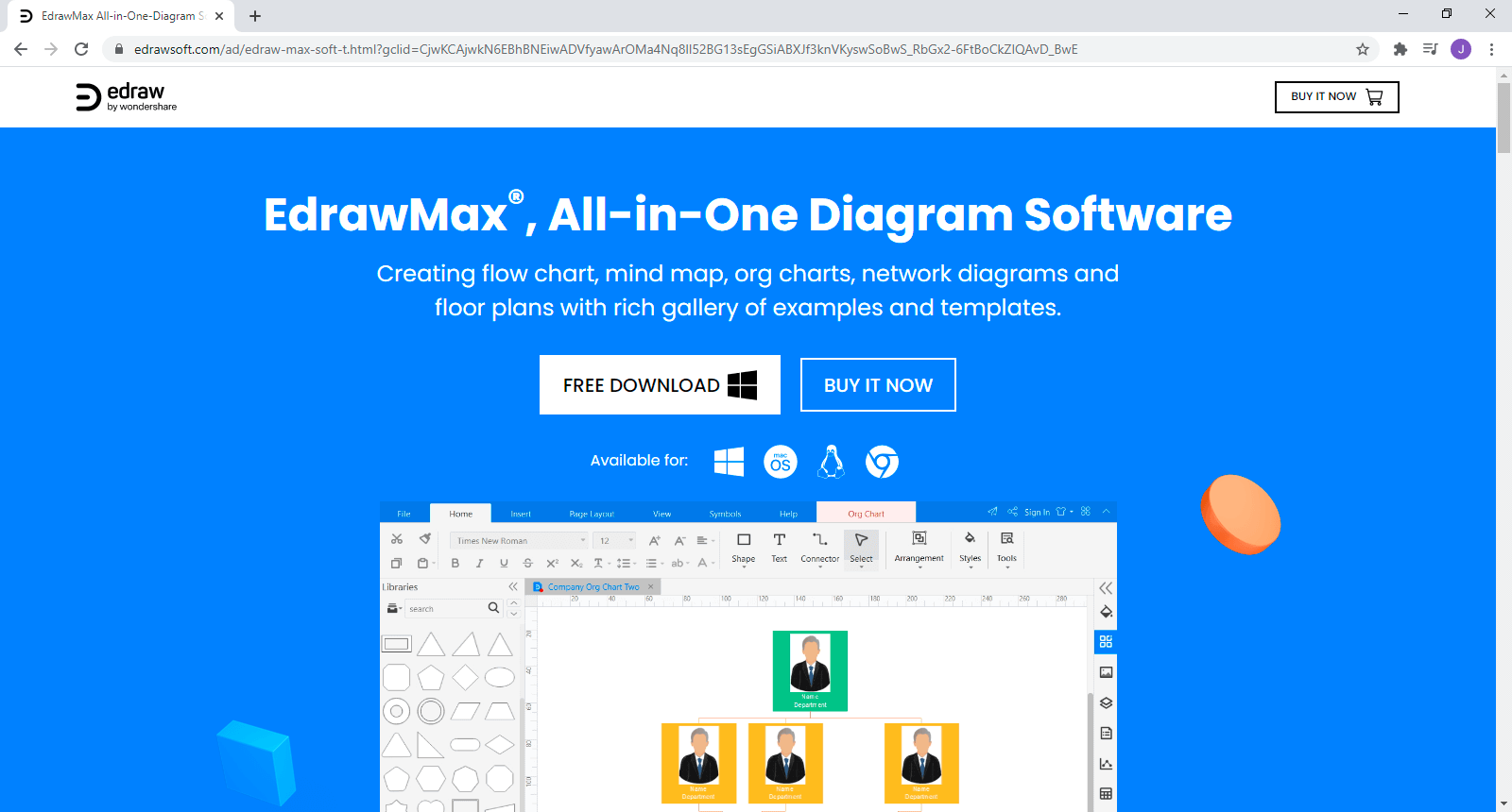 Download and install EdrawMax