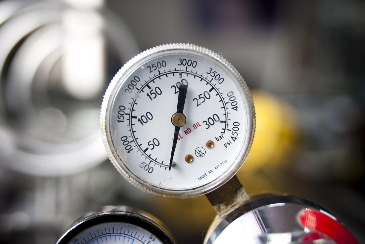indicador de presión