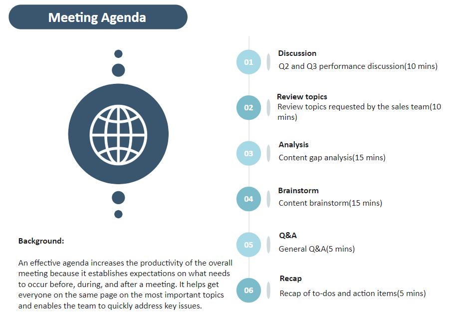 agenda example 1