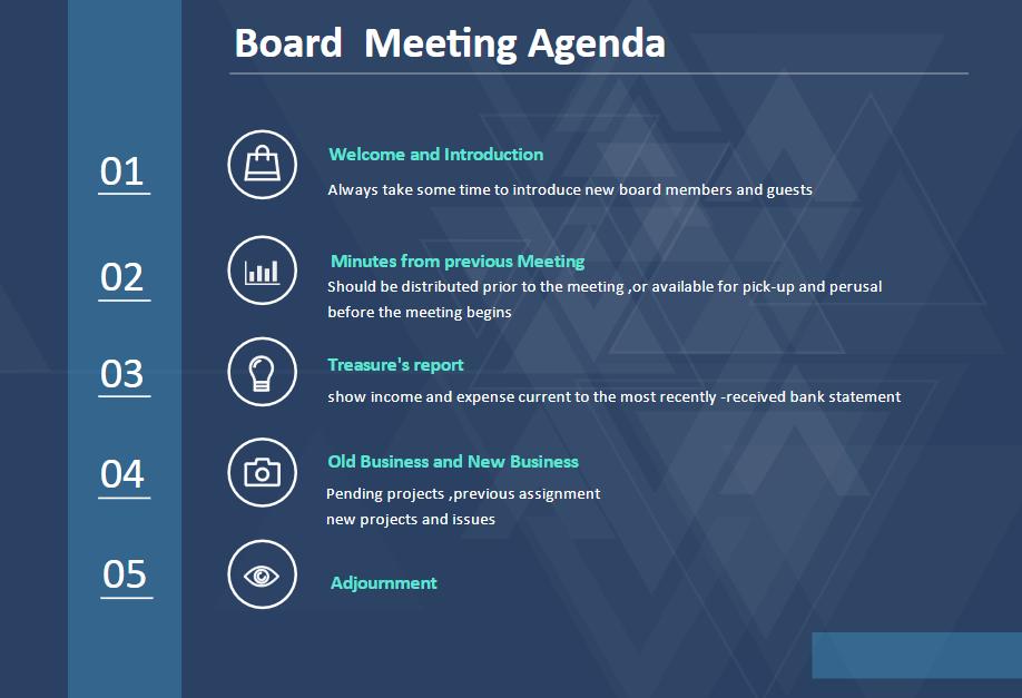 agenda example 2