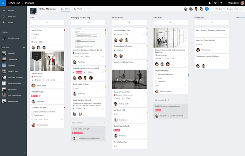Overview of Microsoft Planner