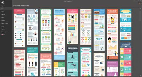 plantillas de infografía editables