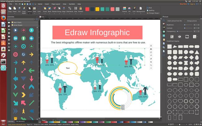 software de infografía para Linux