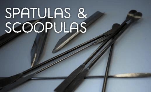 Spatulas and scoopulas