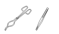 Tongs and forceps