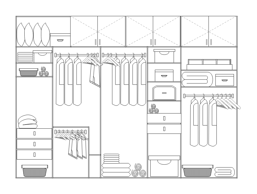 Home Water Piping Plan Template