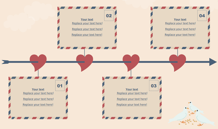 Love Story Timeline Template