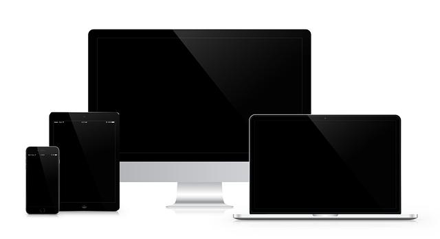 Mockup of iMac