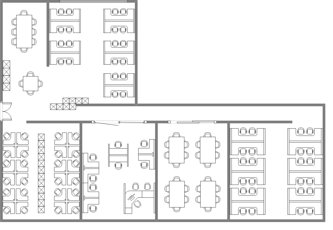 Co-working Office Floor Plan