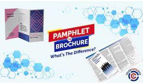 Brochures vs. Pamphlets