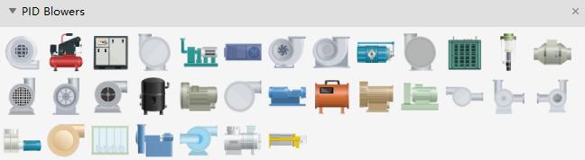 PID Blowers Symbols