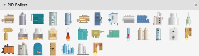 PID Boiler Symbols