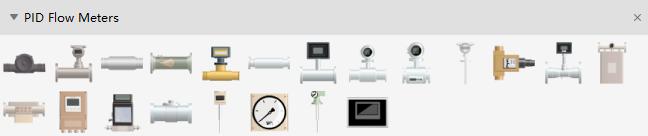 Flow Meter Symbols
