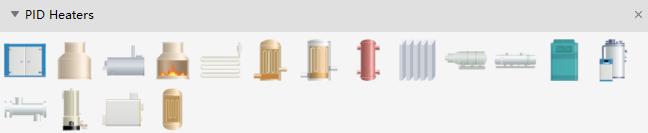 PID Heater Symbols
