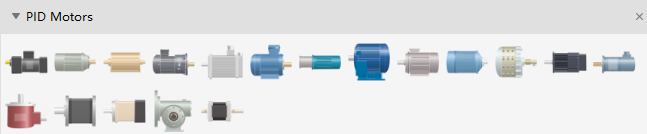 PID Motor Symbols