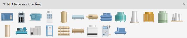Process Cooling Symbols