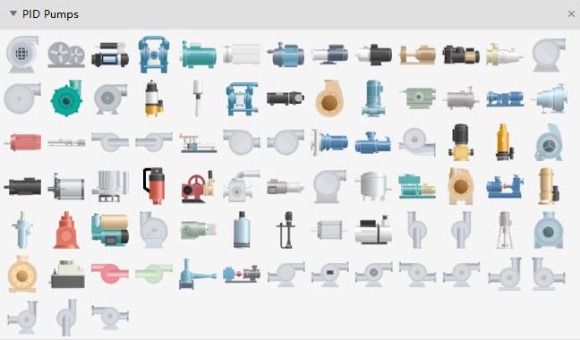 PID Pump Symbols