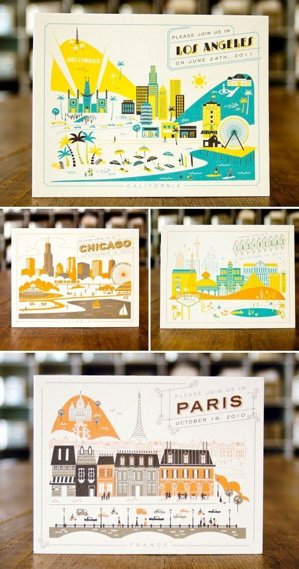 Postcard Examples for A Place