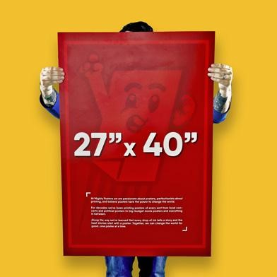 27x40 inches Movie Posters