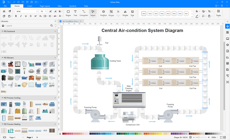 process and instrumentation drawing software