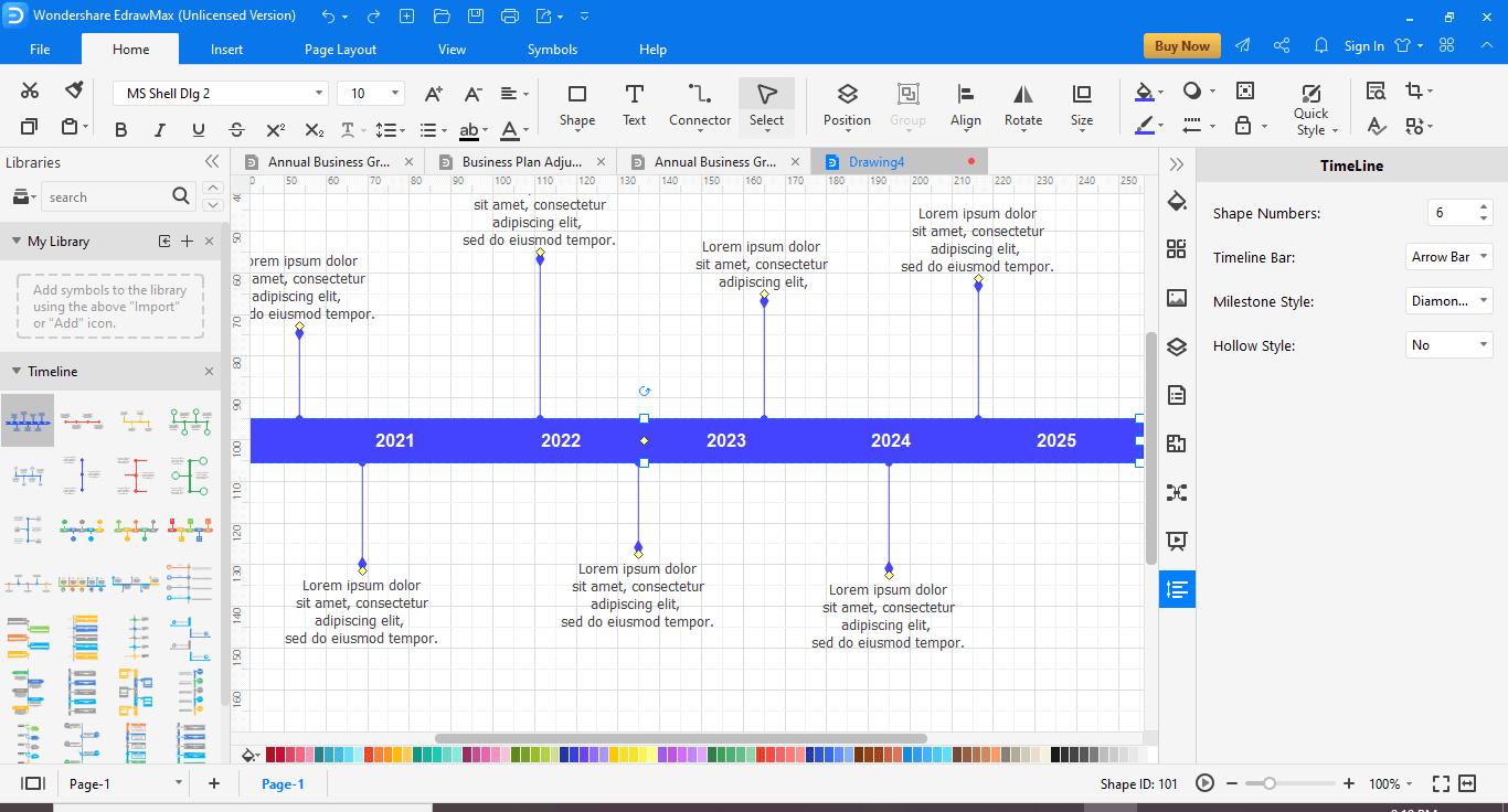 Add the Timeline Bar