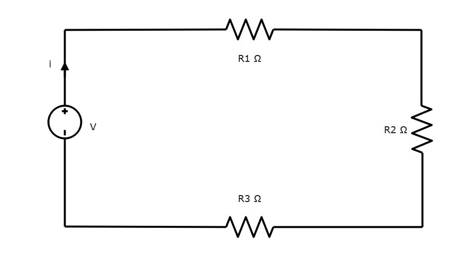 Series Circuit - Resistance units