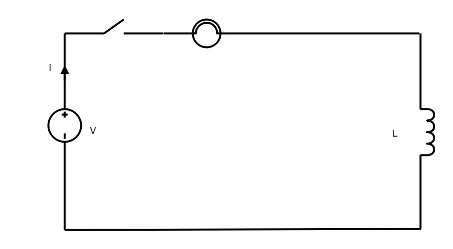 Series Circuit - Inductors